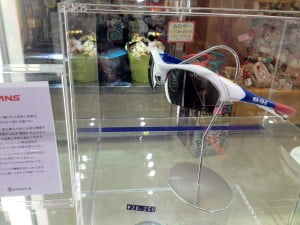 静岡SAのガンダム専門店 RX-78サングラス